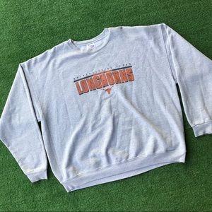 Texas Longhorns college crewneck Sweatshirt 2XL XX